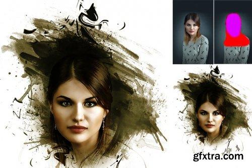 CreativeMarket - Portrait Pro Photoshop Action 4198792