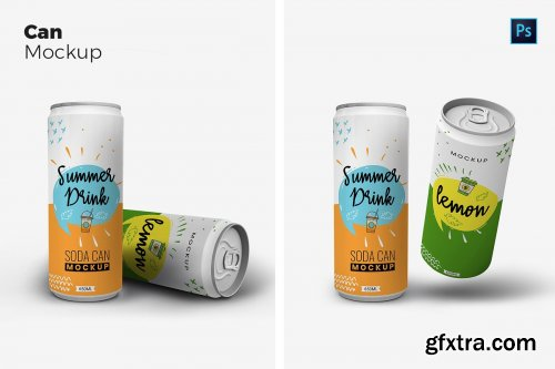 CreativeMarket - Tin Can Mockups 4244482