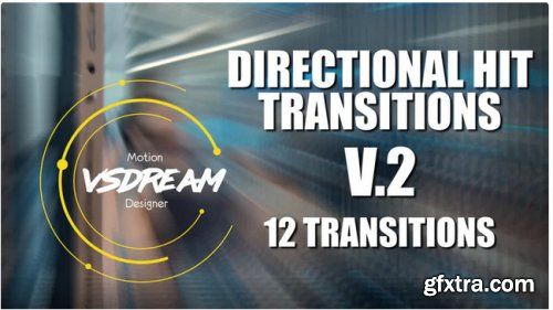 Directional Hit Transitions V2 - Premiere Pro 344103