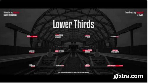 Lower Thirds Pack - After Effects 339855