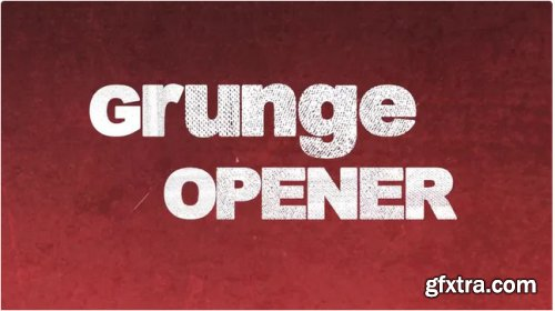 Grunge Opener - After Effects 339902