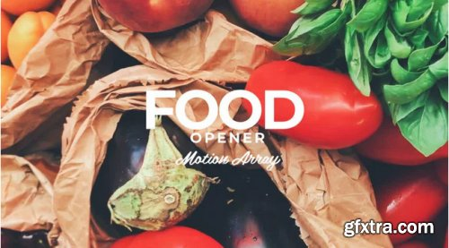 Food Opener - After Effects 340168