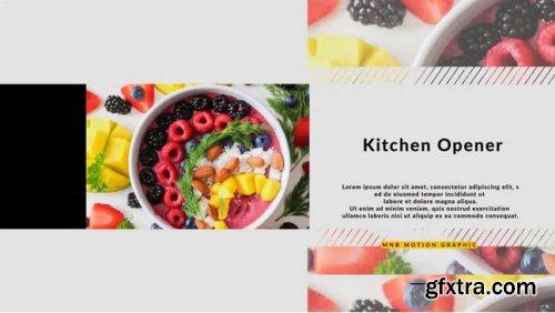Kitchen Product Promo - Premiere Pro 340312