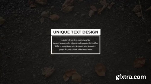 Box Typography - After Effects 343722