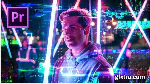 24 Digital Glitch Transition - After Effects 343819