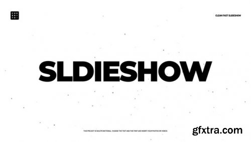 Clean Fast Slideshow - After Effects 344064