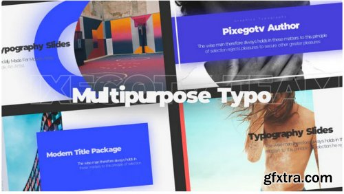 Multipurpose Typo / Slideshow - Premiere Pro 326537