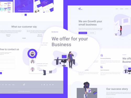 Growth Landing Page