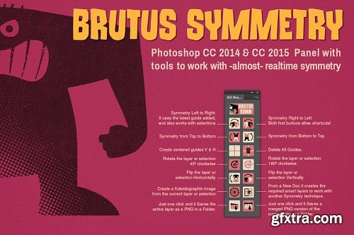 AD Brutus Symmetry 1.7.0 for Photoshop