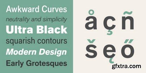 Applied Sans Font Family