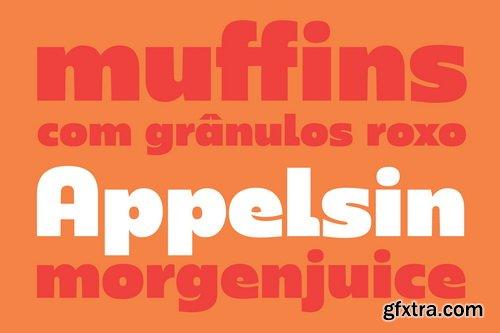 Rum Sans Font Family