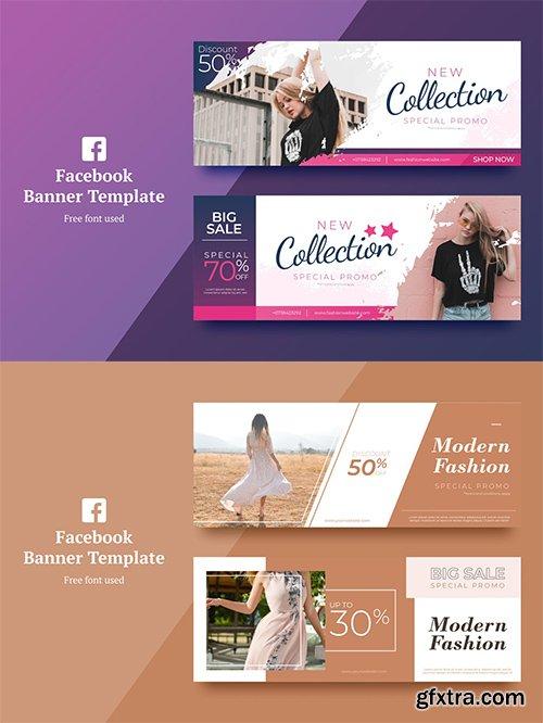 Fashion Facebook Banner 1,2