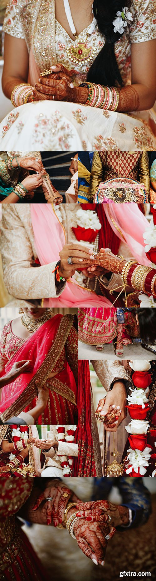 India wedding tradition ceremony and clothing items