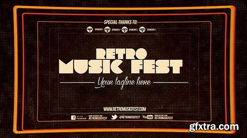 Videohive - Retro Music Festival V2.1 - 7814088