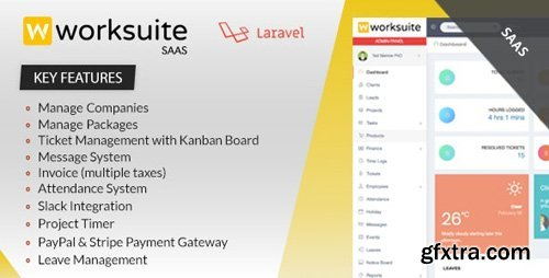 CodeCanyon - Worksuite Saas v3.4.3 - Project Management System - 23263417 - NULLED
