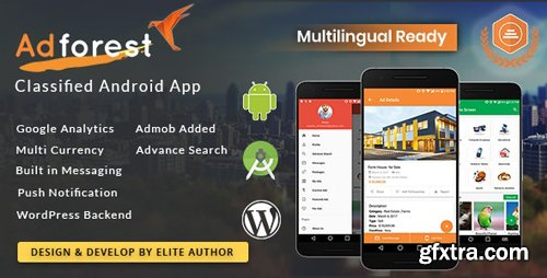 CodeCanyon - AdForest v2.3.3 - Classified Native Android App - 20963101