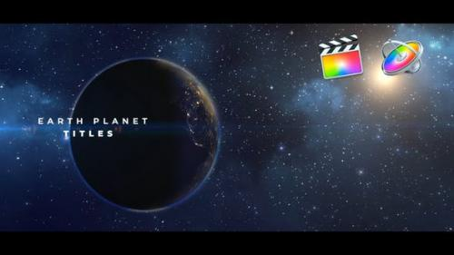Videohive - Earth Planet Titles