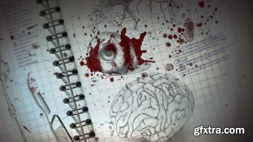 Videohive The Morgue Notes Opener 23480457