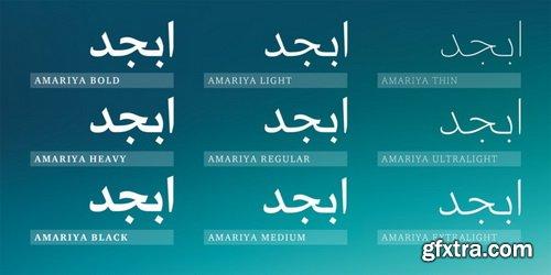 Amariya Arabic Font Family