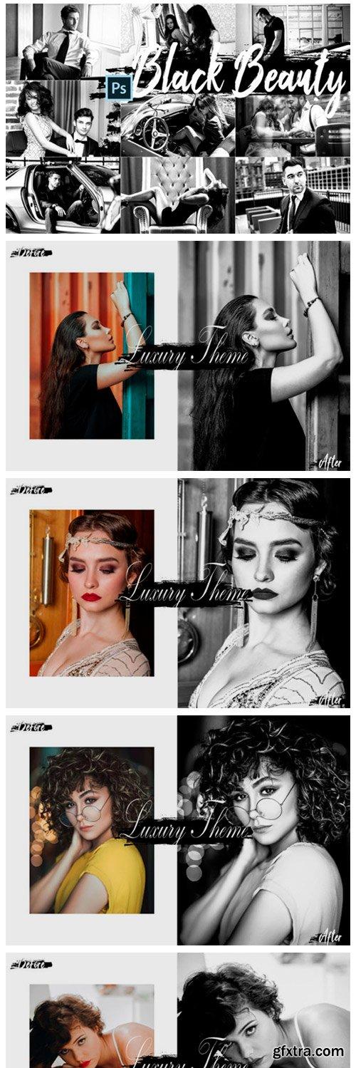 Black Beauty Photoshop Actions ACR LUTs 2420542