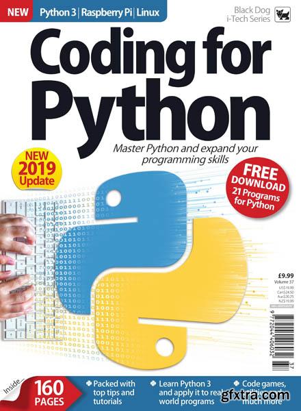 Coding for Python – Volume 37 2019 (HQ PDF)