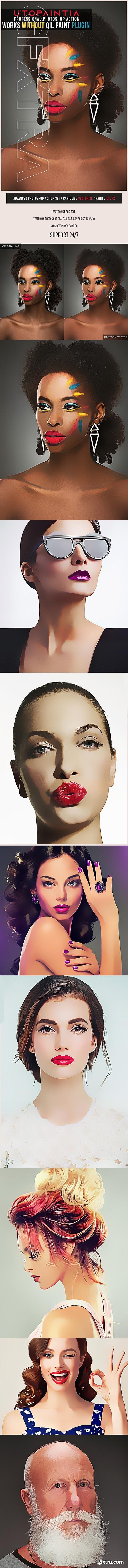 GraphicRiver - Utopaintia Photoshop Action 25212076