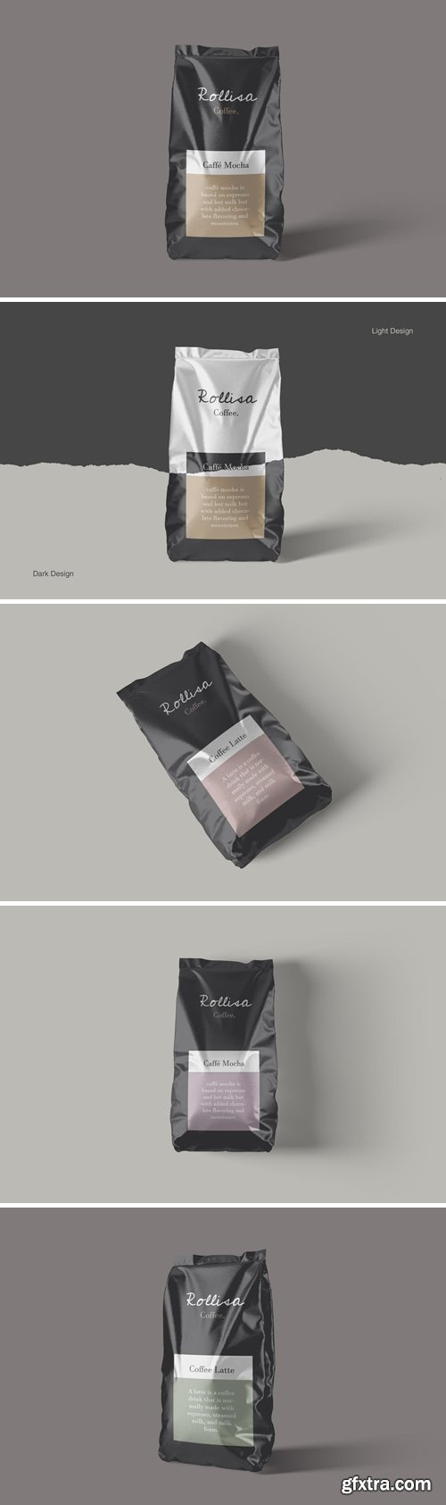Pouch Packaging Mockups