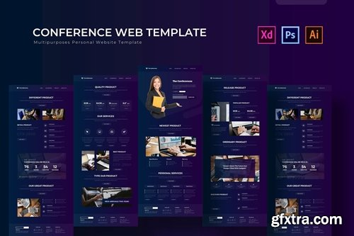 The Conferences | PSD Web Template