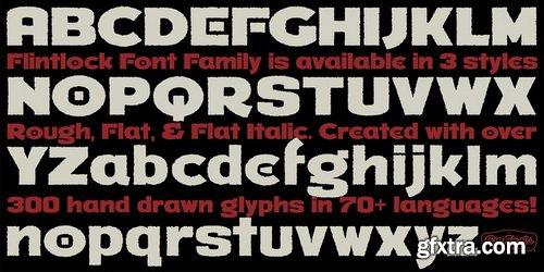 Flintlock Font Family