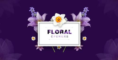 Videohive - Floral 8 Opening Footages/ Glamour Wedding Titles/ Flowers and Shapes/ Vintage and Hipster/ Romantic