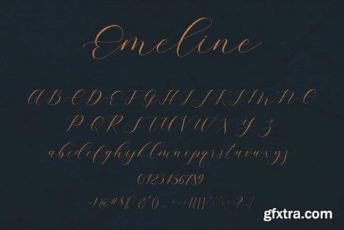 CM - Emeline Script Font 4449875