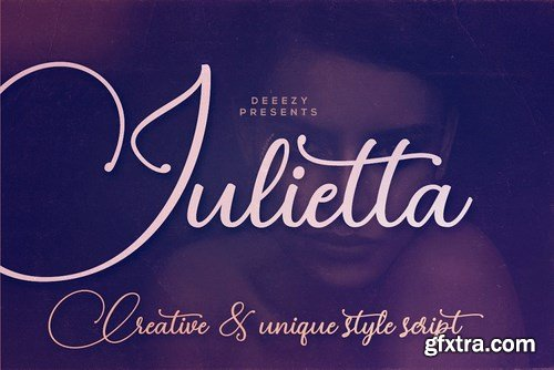 CM - Julietta Script Font 4449898