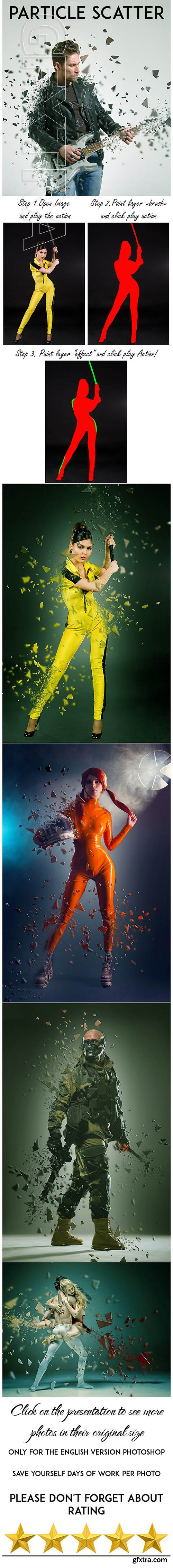 GraphicRiver - Particle Scatter Photoshop Action 25254006