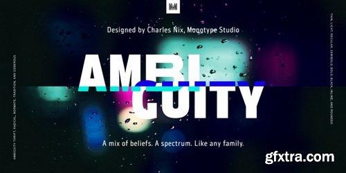Ambiguity Font Family