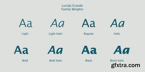 Lucida Grande Font Family