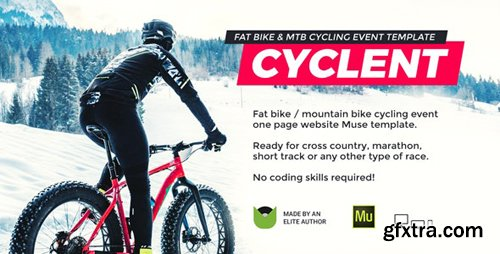 ThemeForest - Cyclent v1.0 - Mountain Bike Event Template - 25258751