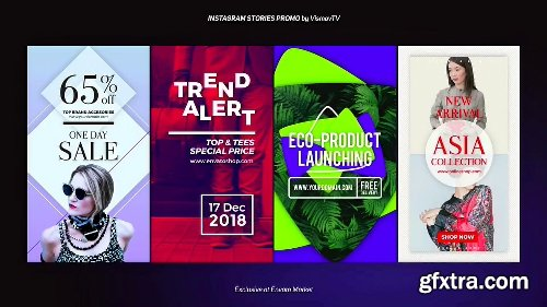 Videohive Instagram Stories Promo 21976691