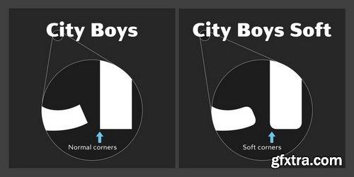 City Boys Font Family