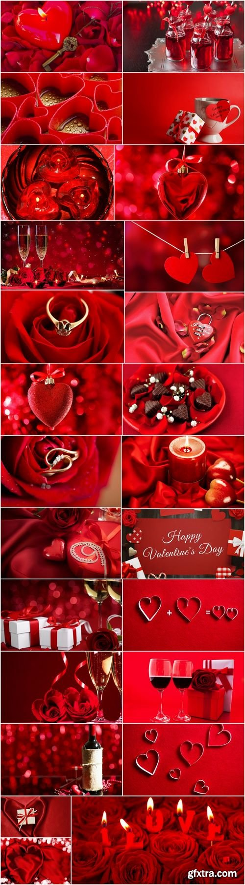 Valentines Day gift heart still life illustration holiday 2-25 HQ Jpeg