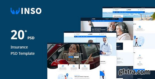 ThemeForest - Vinso v1.0 - Insurance PSD Template - 25103291