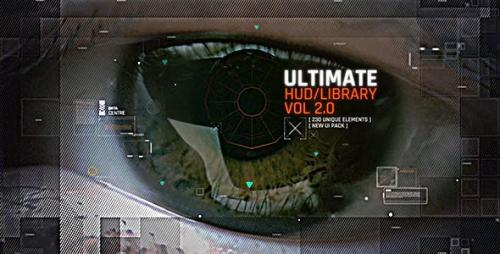 Videohive - HUD Ultimate Library Pack 3 / Ui Future Space Package / Cyber Space Screens