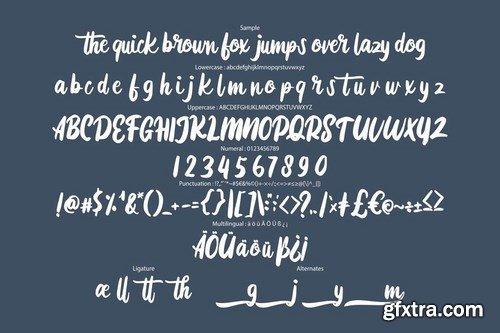 CM - Diotam Modern Script Font 4458852