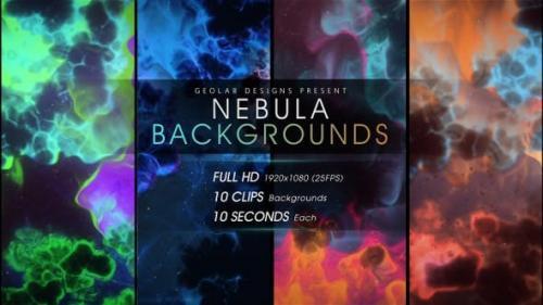 Videohive - Nebula Backgrounds