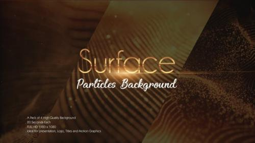 Videohive - Surface Particles Backgrounds Pack