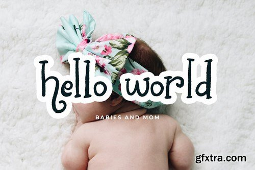 CM - Chalk World Display Font 4465754