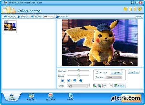 iPixSoft Flash ScreenSaver Maker 3.6.0