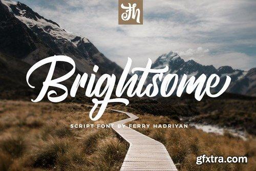 CM - Brightsome - Script Font 4462746