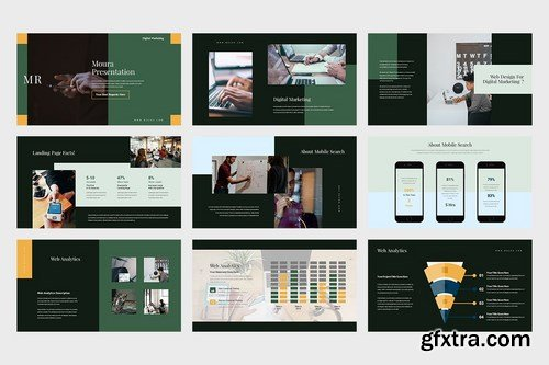 Moura Digital Marketing Pitch Deck Powerpoint