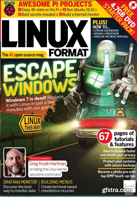 Linux Format UK - Issue 259, February 2020