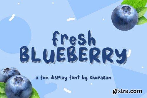 Fresh Blueberry Font